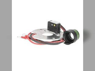 Electronic Ignition Kit - 12 Volt Negative Ground Case 570 540 200B 600 580 470 480 310 430 450 300 300B 640 530 850 350 440 420 320 400 441 Massey Harris 20 Pony 30 333 22 444 44 33 555 55 Mustang