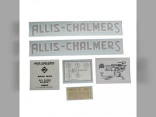 Decal Set G Vinyl Allis Chalmers G
