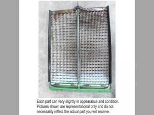 Used Top Chaffer Sieve Precleaner John Deere 9400 CTS 9510 SH 9550 9550 SH 9560 9660 CTS 9450 9500 SH 9510 9500 9410 9560 SH AH130151