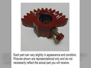 Used Twine Arm Drive Gear New Holland BR740A BR750A 664 BR7070 BR780A BR7080 658 BR740 BR7090 BR750 BR7060 BR770 BR780 BR770A 654 Case IH RBX563 RBX453 RB454 RBX463 RBX452 RB564 RB464 RBX562 RBX462