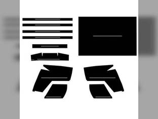 Cab Foam Kit with Headliner Cozy Cab International 806 856 666 460 756 656 1206 560 1256 1466 766 1066 1456 706 966 Oliver 1850 1650 1855 1655 Allis Chalmers 175 170 John Deere 3010 4010 4020 3020