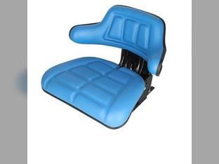 Seat Flip-up Grammer Style Blue Vinyl FIAT 80-88 82-93 60-93 60-66 70-66 65-93 55-65 60-94 80-66 70-88 55-66 72-93 88-93 0278205 119896 1672345M91 1826035 193451M1 3901773M91 5161727 5C653 TS1050ATSP