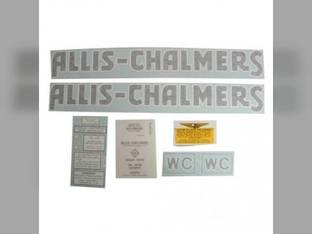 Decal Set WC 1941-48 Vinyl Allis Chalmers WC