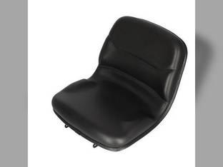 Seat - Contoured Black Vinyl John Deere 670 770 790 870 970 990 1070 3005 4005 M803465
