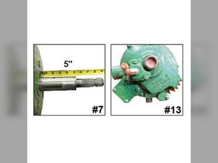 Remanufactured Feeder House Reverser Gear Box Assembly John Deere 9860 9770 9560 9760 9660 9670 header.
