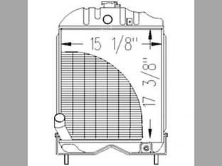 Radiator Massey Ferguson 35X 35 894357M92