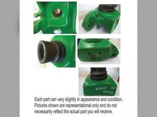 Used MFWD Steering Knuckle - RH John Deere 7410 6155J 8300 7820 6140J 7930 7630 7710 7520 7810 7920 7510 7330 8400 8100 7720 7210 7420 7730 7610 8200 R155627