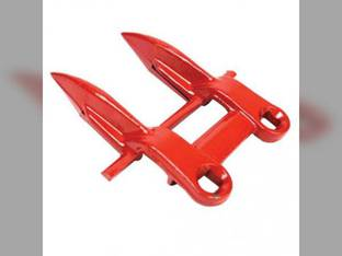 Forged Guard 2 Prong Case IH 5500 5000 4000 187350A1 New Idea 512 509 5114 5112 5109 5107 507 514 Gehl 044779 92A70