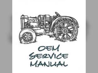 Service Manual - IH-S-265 Case IH 265