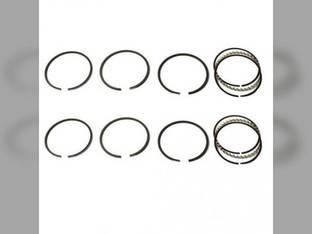 "Piston Ring Set - .120"" Oversize - 2 Cylinder John Deere 440 430 420 113 4020 341 227 3020"