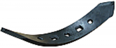"""Flat-Faced Chisel Plow Point - 3"""" Left Hand Twisted"""