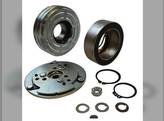 Air Compressor Clutch - With Pulley Massey Ferguson 383 375 399 398 390 690 Steiger White 2-110 2-155 2-135 Versatile Case IH Allis Chalmers Ford 6410 7610 Case 1896 New Holland AGCO Hesston FIAT