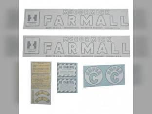Vinyl Decal Set - Farmall & Super C International Super C
