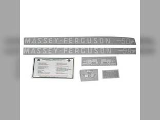 Tractor Decal Set 50 Vinyl Massey Ferguson 50