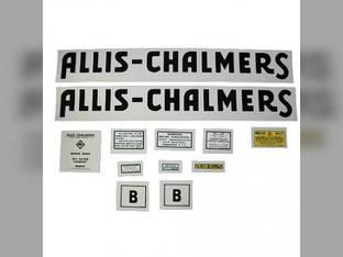 Decal Set Allis Chalmers B