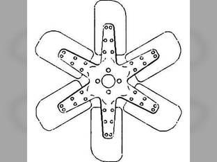 Cooling Fan - 6 Blade International 706 544 664 2706 2544 656 2656 A173726