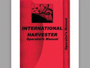 Operator's Manual - IH-O-806 International 806 806 2806 2806
