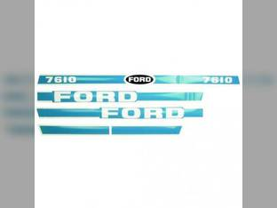 Decal Set For 7610 Ford 7610