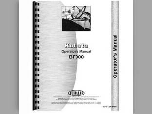 Operator's Manual - BF900 L3750 L4150 Kubota L4150 L4150 L3750 L3750 BF900