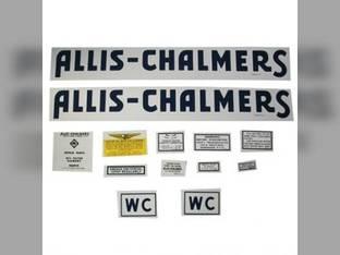 Allis Chalmrs Decal Set Allis Chalmers WC