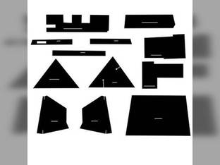 Cab Foam Kit with Headliner Allis Chalmers 7040 7080 7030 7020 7060 7050 7000 7010