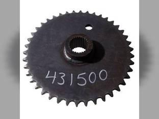 Used Axle Drive Sprocket New Holland L455 L451 L454 L452 631017 John Deere 575 570 MG631017