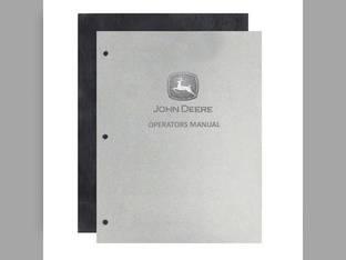 Operator's Manual - JD-O-OMR2086 John Deere 720 720