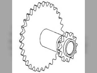 Thresher Area Idler Sprocket Gleaner M3 L2 M2 L3 71194503