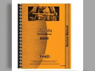 Service Manual - KU-S-B8200 Kubota B8200