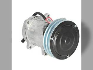 Air Conditioning Compressor - Case IH 1660 1688 2188 2144 7230 7120 2366 1680 2166 2388 7130 1666 2344 1640 Case McCormick Hesston Massey Ferguson New Holland Challenger / Caterpillar New Idea AGCO