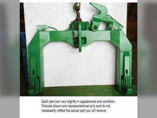 Used Cat III - IV Quick Hitch Assembly/W Two center hooks John Deere 8130 8225R 8230 8230T 8235R 8245R 8260R 8270R 8285R 8295R 8310R 8320R 8320RT 8330 8330T 8335R 8345R 8345RT 8360R 8430 8430T 8530