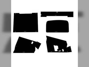 Cab Foam Kit with Headliner Black Massey Ferguson 2805 2705 2675 2775 2745