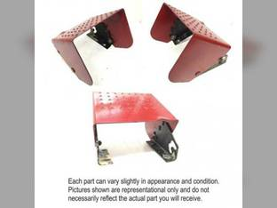 Used PTO Shield with Brackets International 5288 5088 7288 7488 5488 139320C1