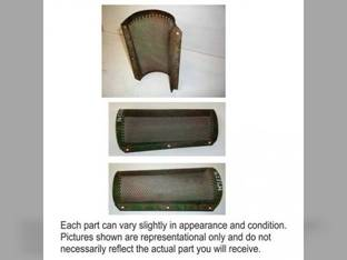 Used Lower tailings Perforated Cover John Deere 7721 6620 3300 7700 4420 6600 7720 6620 SH 6602 6600 SH 4400 H78296