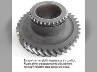 Used Pinion Shaft Gear John Deere 2510 2520 3020 4030 R33503