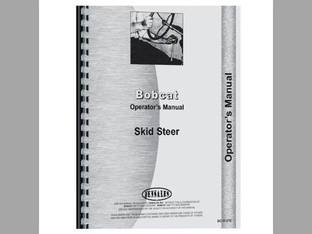 Operator's Manual - BC-O-500 600 Bobcat 500 610 600