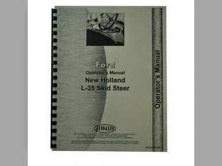 Operator's Manual - FO-O-NH L35 New Holland L35