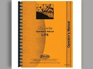 Operator's Manual - KU-O-L175 Kubota L175 L175