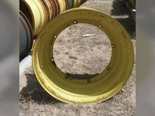 "Used 14"" x 26"" Plate RWA Rim John Deere 6620 7700 7720 8820 6600 AH87797"