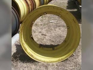 "Used 14"" x 26"" Plate RWA Rim John Deere 6620 7700 6600 8820 7720 AH87797"