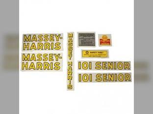 Decal Set 101 Senior Mylar Massey Harris 101