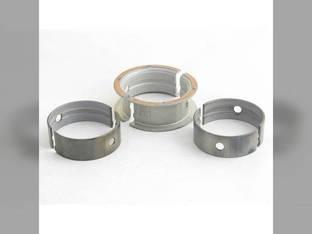 "Main Bearings - .010"" Oversize - Set John Deere 1010 2010 115 145 AT24119"