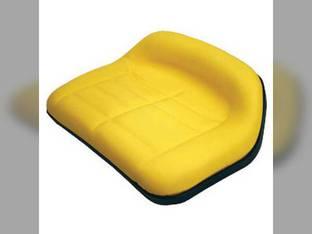 Medium Back Seat Vinyl Yellow John Deere RX63 SX75 SX95 116 175 F510 130 RX75 RX73 108 165 170 160 RX95 185 111 180 TY15862