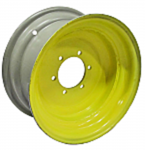 8x16 6 Hole Front Rim - Heavy Duty - Yellow