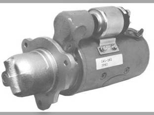 Remanufactured Starter - Delco Style (3942) Allis Chalmers 7020 G TL545 D2800 7000 185 8010 190 D2900 180 7010 70242143 Gleaner F M L