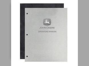 Operator's Manual - JD-O-DIR103 John Deere A A