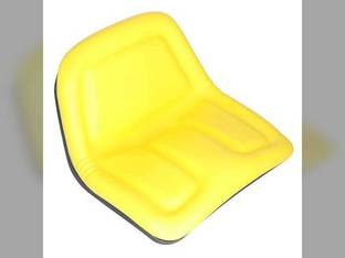 Seat Assembly High Back Vinyl Yellow John Deere 375 570 TY15863