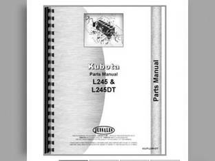 Parts Manual - KU-P-L245+DT Kubota L245 L245 L245