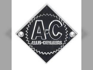 Emblem Chrome W/Chrome Background And Starburst Allis Chalmers D17 D17 ED40 ED40 D12 D12 D14 D14 D21 D21 D15 D15 D19 D19 D10 D10 70246724 Gleaner F A2 E C E3