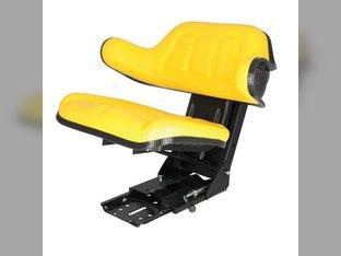 Seat Assembly - Grammer Style Vinyl Yellow John Deere 2130 2755 2355 2155 820 2955 2440 1640 2950 2350 1630 2040 3040 2940 2840 2150 2555 3140 2240 2640 830 2750 2550 2140 1530 1020 920 2020 2030